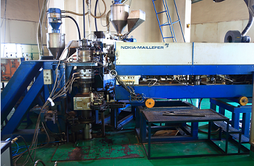 Triple-Layer Extrusion Machine